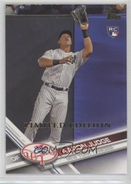 2017 Topps - [Base] - Limited Edition #287 - Aaron Judge