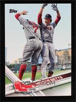 SSP - Mookie Betts (Celebrating with Teammate)