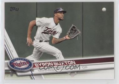 2017 Topps - [Base] #227.1 - Byron Buxton (Fielding)