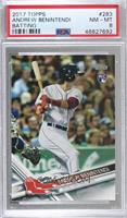 Andrew Benintendi (Batting) [PSA 8 NM‑MT]