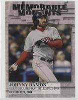 375ef9354bbb Johnny Damon Serial Numbered All Baseball Cards