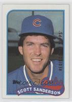 Scott Sanderson Chicago Cubs Baseball Cards