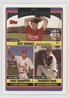 Roy Oswalt, Chris Carpenter, Brandon Webb