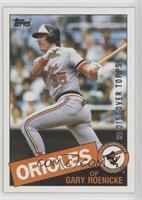 Gary Roenicke Baseball Cards