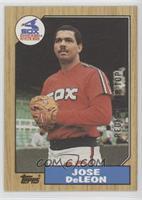 Jose Deleon Baseball Cards