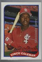 Vince Coleman Baseball Cards