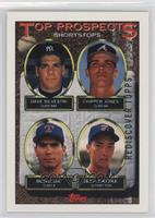 Dave Silvestri, Chipper Jones, Benji Gil, Jeff Patzke