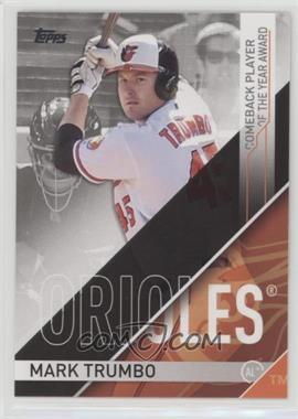 2017 Topps - Retail MLB Awards #CBP-1 - Mark Trumbo