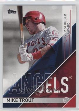 2017 Topps - Wal-Mart Silver Slugger Awards #SS-11 - Mike Trout