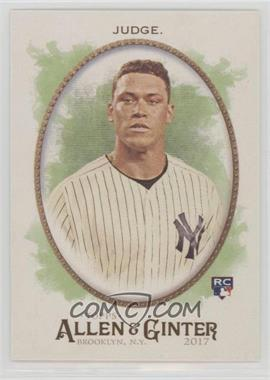 2017 Topps Allen & Ginter's - [Base] #172 - Aaron Judge
