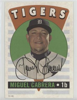 2017 Topps Archives - 2016 Retro Original - Topps Online Exclusive 5 x 7 #RO-18 - Miguel Cabrera /49