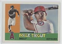 1960 - Mike Trout (Bat Behind Head)