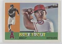 1960 - Mike Trout (Bat Behind Head)