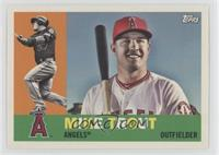 1960 Photo Variation - Mike Trout (Bat on Shoulder)