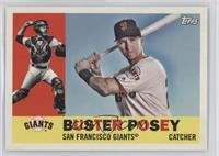 1960 Photo Variation - Buster Posey (White Jersey)