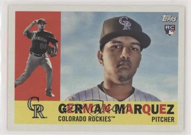 2017 Topps Archives - [Base] #71 - 1960 - German Marquez