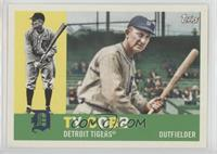 1960 Photo Variation - Ty Cobb (With Bat)