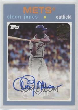 2017 Topps Archives - Fan Favorite Autographs - Light Blue #FFA-CJ - 1971 - Cleon Jones /75