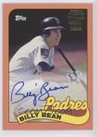 1989 - Billy Bean #/150