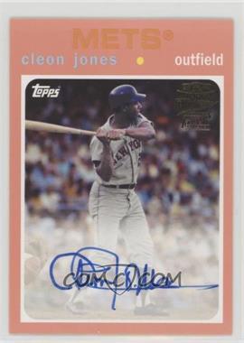 2017 Topps Archives - Fan Favorite Autographs - Peach #FFA-CJ - 1971 - Cleon Jones /150