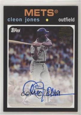 2017 Topps Archives - Fan Favorite Autographs #FFA-CJ - 1971 - Cleon Jones