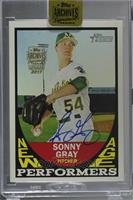 Sonny Gray (2016 Topps Heritage New Age Performers) /1 [Buy Back]