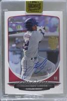 Francisco Lindor (2013 Bowman Top Prospects) [Buy Back] #/99