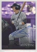 Tyler Austin (2014 Bowman Platinum - Chrome Prospects - Retail Purple Refractor…