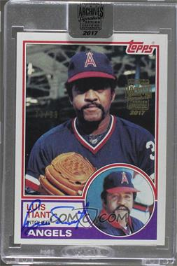 2017 Topps Archives Postseason Signature Edition Buybacks - [Base] #1983T-178 - Luis Tiant (1983 Topps) /99 [BuyBack]