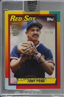 Tony Pena (1990 Topps Traded) /28 [Buy Back]
