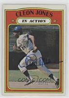 Cleon Jones (1972 Topps In Action) /71