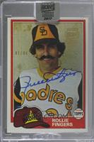 Rollie Fingers (1981 Topps) [BuyBack] #/94
