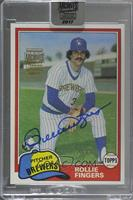 Rollie Fingers (1981 Topps) [BuyBack] #/69