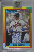 David Justice (1990 Topps Traded) /79 [Buy Back]