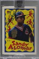 Sandy Alomar Jr. (1992 Topps Kids) /9 [BuyBack]