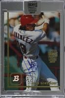 Juan Gonzalez (1994 Bowman) [Buy Back] #12/25