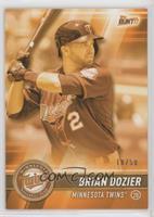 Brian Dozier #/50