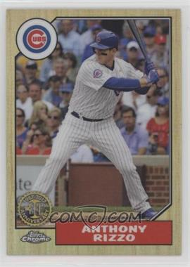 2017 Topps Chrome - 1987 Design #87T-22 - Anthony Rizzo