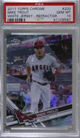 Mike Trout (White Jersey) [PSA10GEMMT]