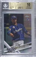 Photo Variation - Orlando Arcia (Throwing) [BGS 10 PRISTINE]