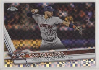 2017 Topps Chrome Update - Target Exclusive [Base] - X-Fractor #HMT39 - Carlos Correa /99