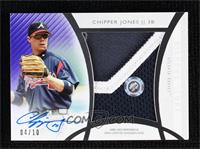 Chipper Jones #/10