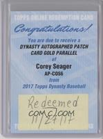 Corey Seager /5 [Being Redeemed]