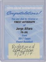 Jorge Alfaro [REDEMPTIONBeingRedeemed]