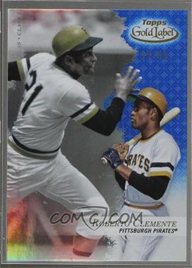 2017 Topps Gold Label - [Base] - Class 2 Blue #26 - Roberto Clemente /99
