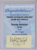 Dansby Swanson [BeingRedeemed]