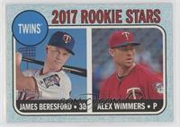 Rookie Stars - James Beresford, Alex Wimmers /50