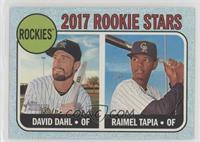 Rookie Stars - Raimel Tapia, David Dahl /50