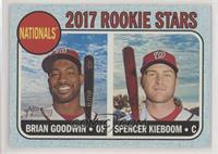 Rookie Stars - Brian Goodwin, Spencer Kieboom #/50