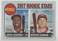 Rookie Stars - Brian Goodwin, Spencer Kieboom /50
